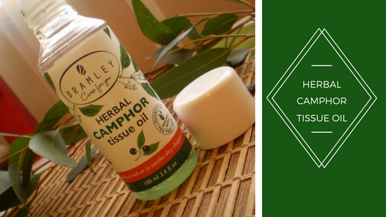 Herbal camphor tissue oil