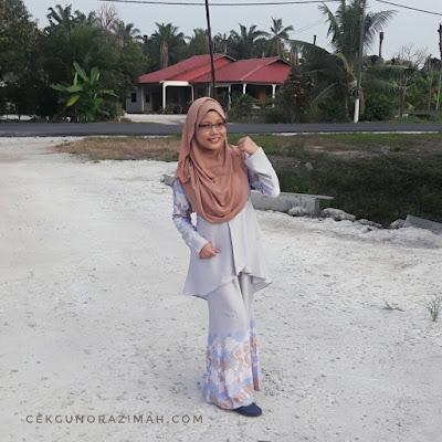 busana Haqqi, baju kurung moden Haqqi, baju raya Haqqi, baju raya, kurung moden, bergaya dengan kurung moden