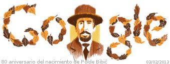 80 aniversario del nacimiento de Polde Bibič