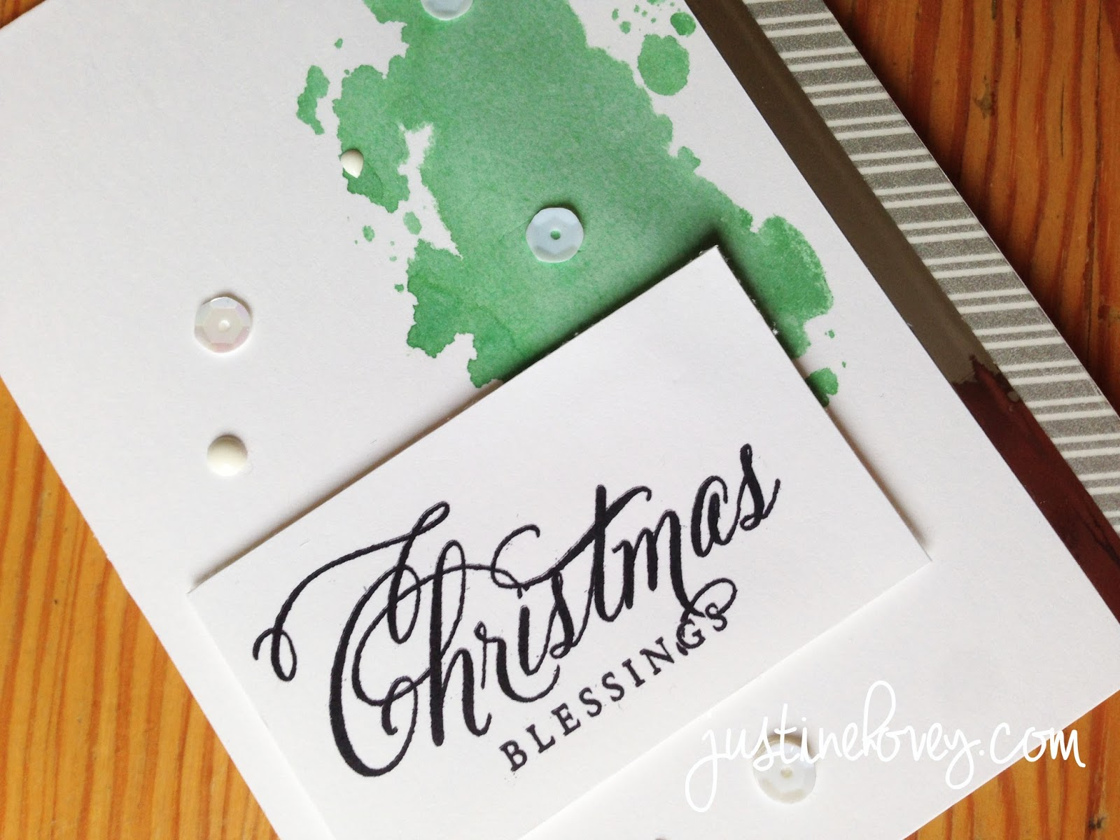 justine u0026 39 s cardmaking  12 days of christmas  day 9  wplus9