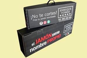 CAJA JAMON ASA PERSONALIZADA