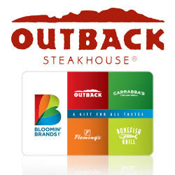 Enter the Bloomin' Brands $50 Gift Card Giveaway. Ends 8/7