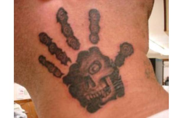 Black Hand Italian Mafia Tattoo