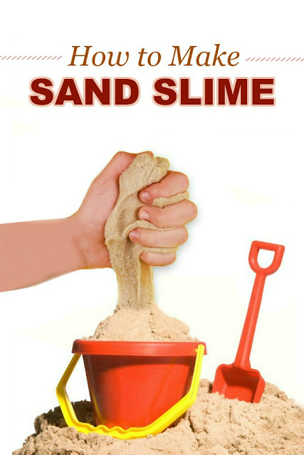 HOW TO MAKE SAND SLIME (Easy recipe!) #sandslime #slimerecipeforkids #sandboxideas #slimerecipe #slime #slimerecipeeasy #playrecipesforkids