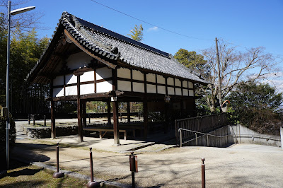 建水分神社 休憩所(旧絵馬堂)(南河内郡千早赤阪村)