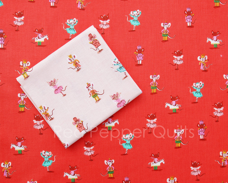 Sugarplum by Heather Ross | © Red Pepper Quilts 2018  #sundaystash #heatherross #sugarplumfabric