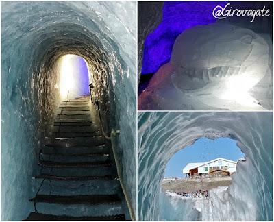 grotta ghiaccio les 2 alpes