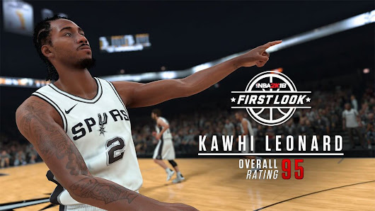 NBA 2k18 Kawhi Leonard Screenshot and Rating