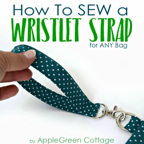 How To Make Wristlet Strap