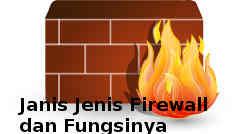 Jenis Jenis Firewall dan Fungsinya Pada Jaringan