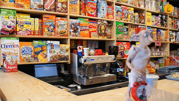 Cereal Hunters Café Madrid