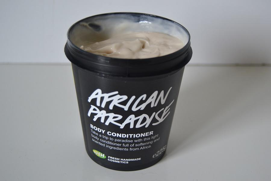 郁郁葱葱的非洲天堂身体护发素