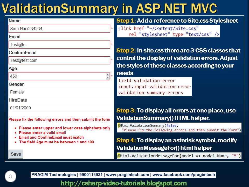 Mvc 4 tutorial c# pdf