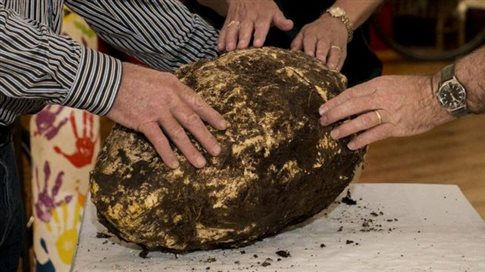 Δέκα κιλά αρχαίο βούτυρο βρέθηκαν θαμμένα στην Ιρλανδία