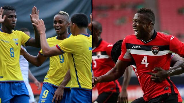 Ecuador vs Trinidad y Tobago en vivo