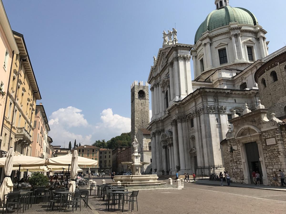 Piazza Duomo, Brescia, Pohjois-Italia