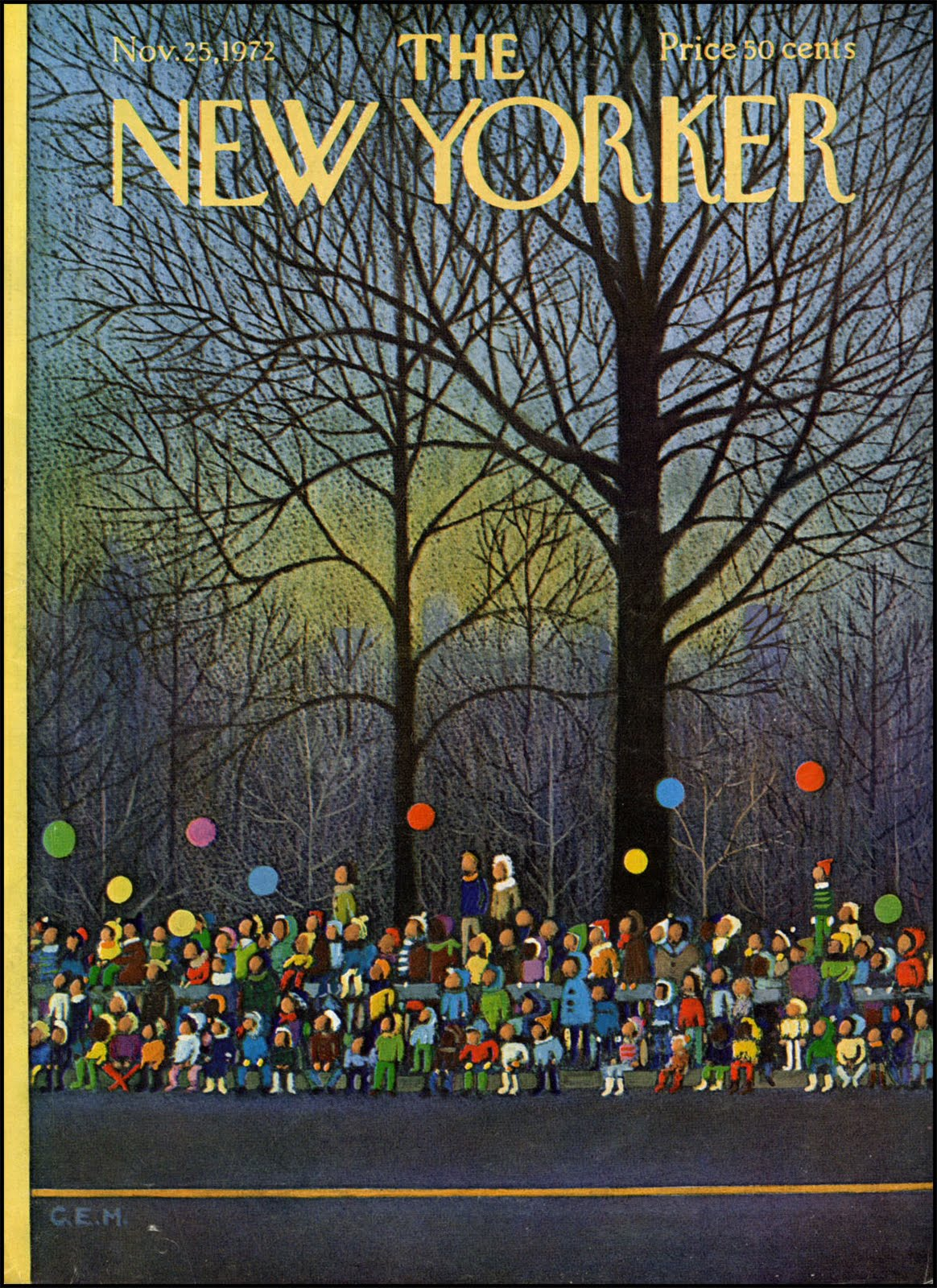 in so many words...: 20 Favorite New Yorker Covers