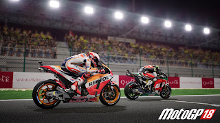 Moto GP 18 Desktop Background