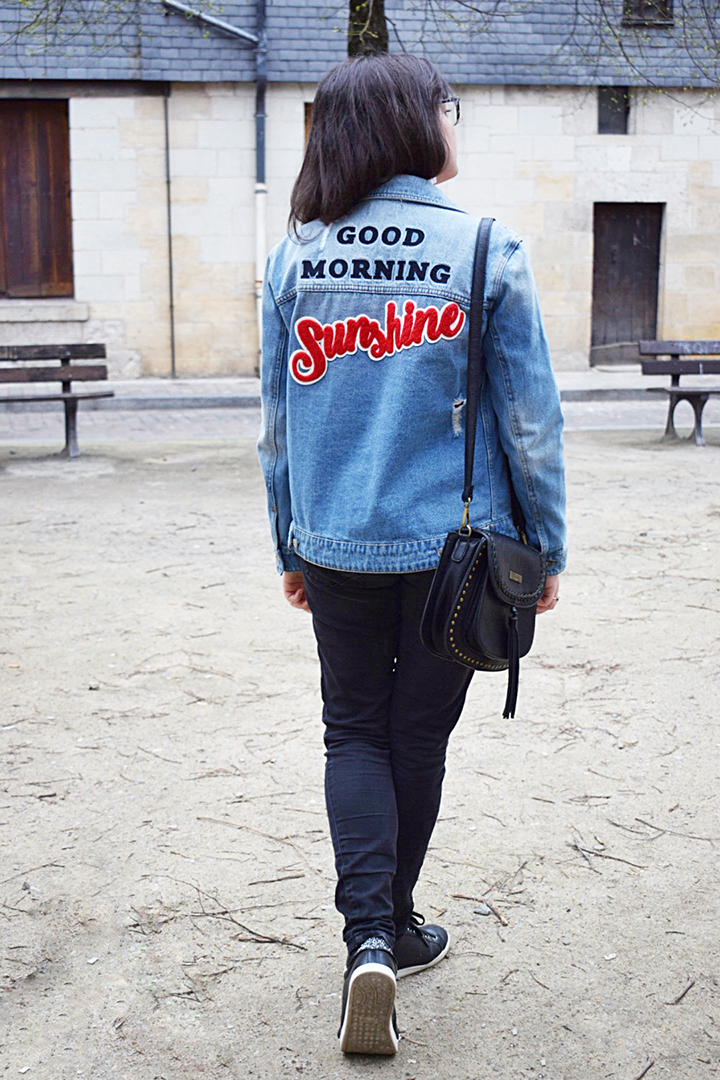 veste jean Pimkie Good Morning Sunshine