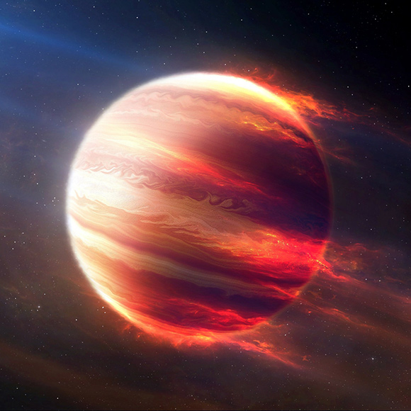 Jupiter-Fire Wallpaper Engine