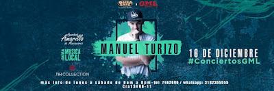 Concierto de MANUEL TURIZO en GAIRA CAFÉ