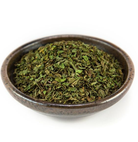 Spearmint dry leaves