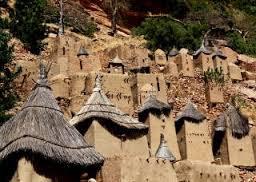 ドゴン族の村