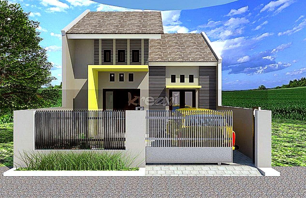 67 Desain Atap Rumah Minimalis Modern 2 Lantai Desain Rumah