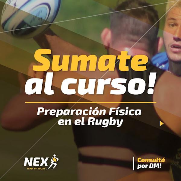 Curso de preparación física en el rugby por NEX