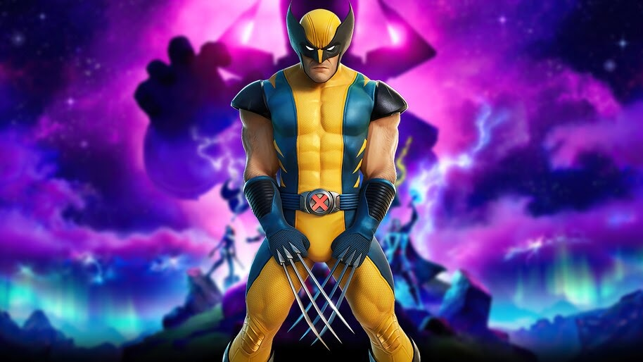 Fortnite, Wolverine, Marvel, 4K, #7.2580