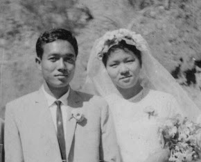 My parents: Rev. Charles Hrang Tin Khum & Flavia Vum Thiam