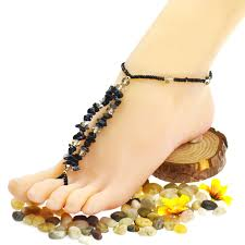 beaded anklets design in Estonia
