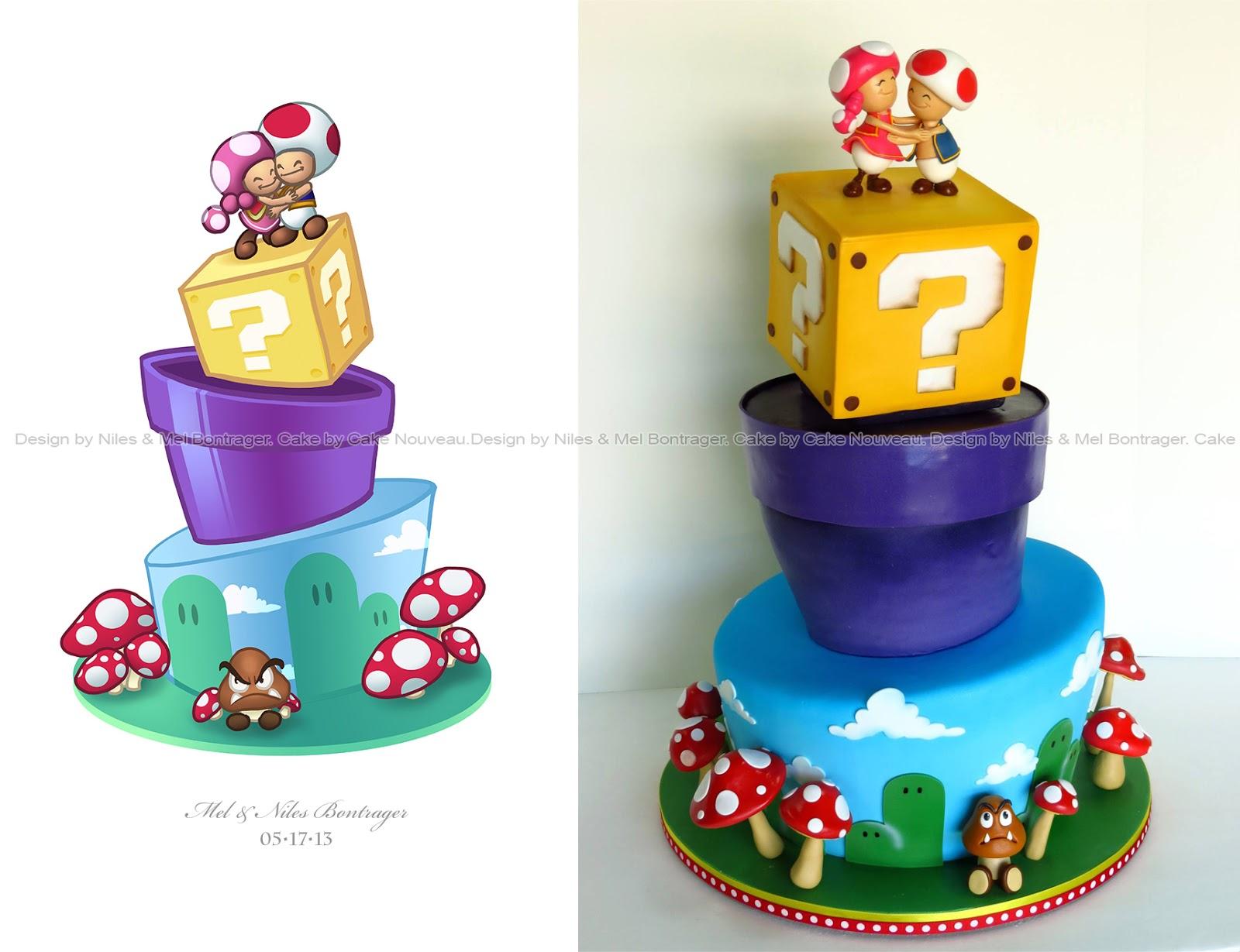 Mario Kart Wedding Cake Ideas And Designs