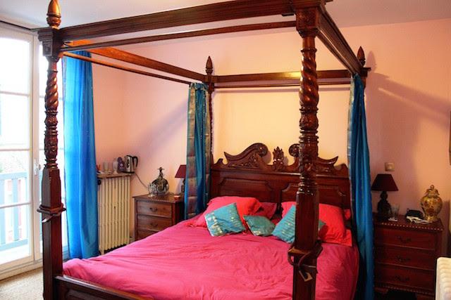 Malabar room, Villa Caroline, Trouville