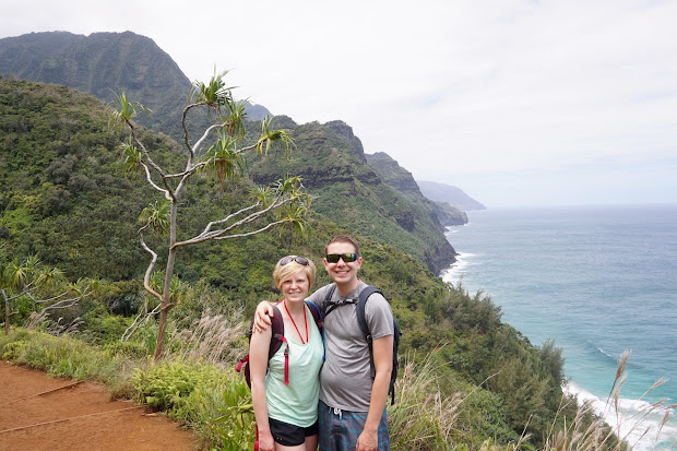 Hiking Na Pali Coast - Eric & Alison