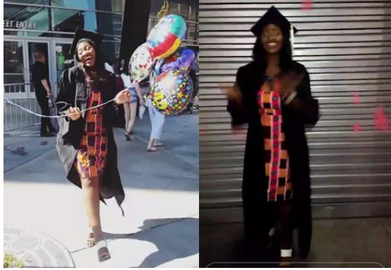Omotola Jalade Ekeinde's daughter graduates from high school