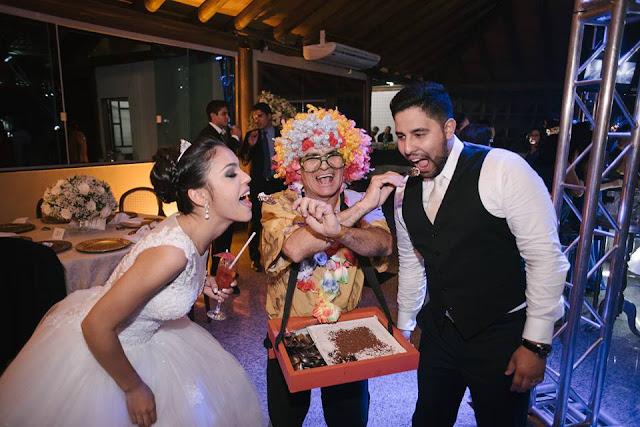 casamento real, rafaela e lucas, buffet, brigadeiro de colher, noivos