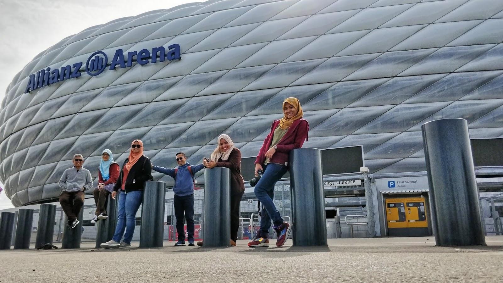 Allianz Arena at Munich, Germany