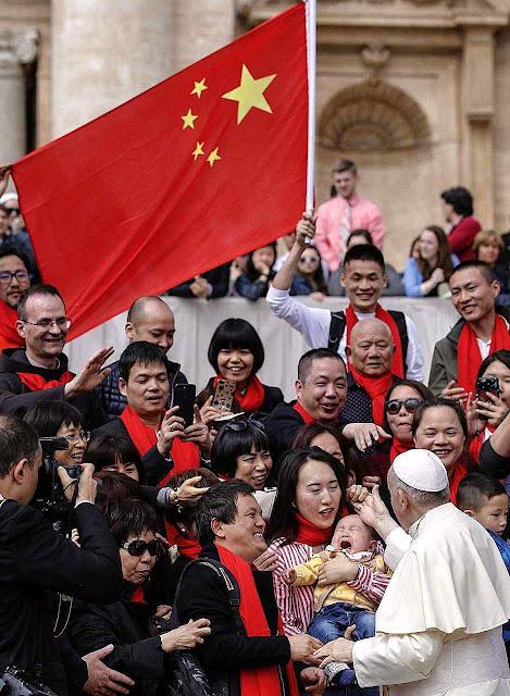 A estratégia do Papa Francisco em face da China comunista conduz a um desastre historicamente comprovado
