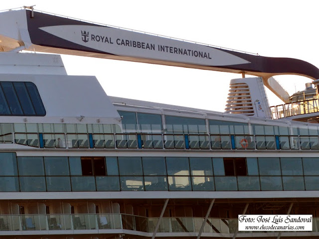 Anthem of the Seas en muelle Santa Catalina  Las palmas de Gran Canaria