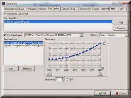 برنامج speedfan للتحكم فى حرارة المروحة للمعالج