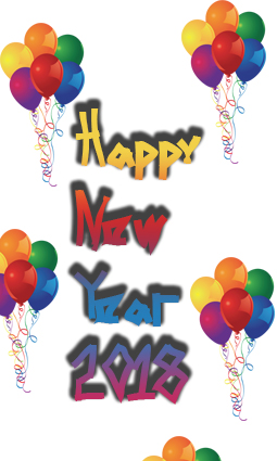 2018 New year wishing images