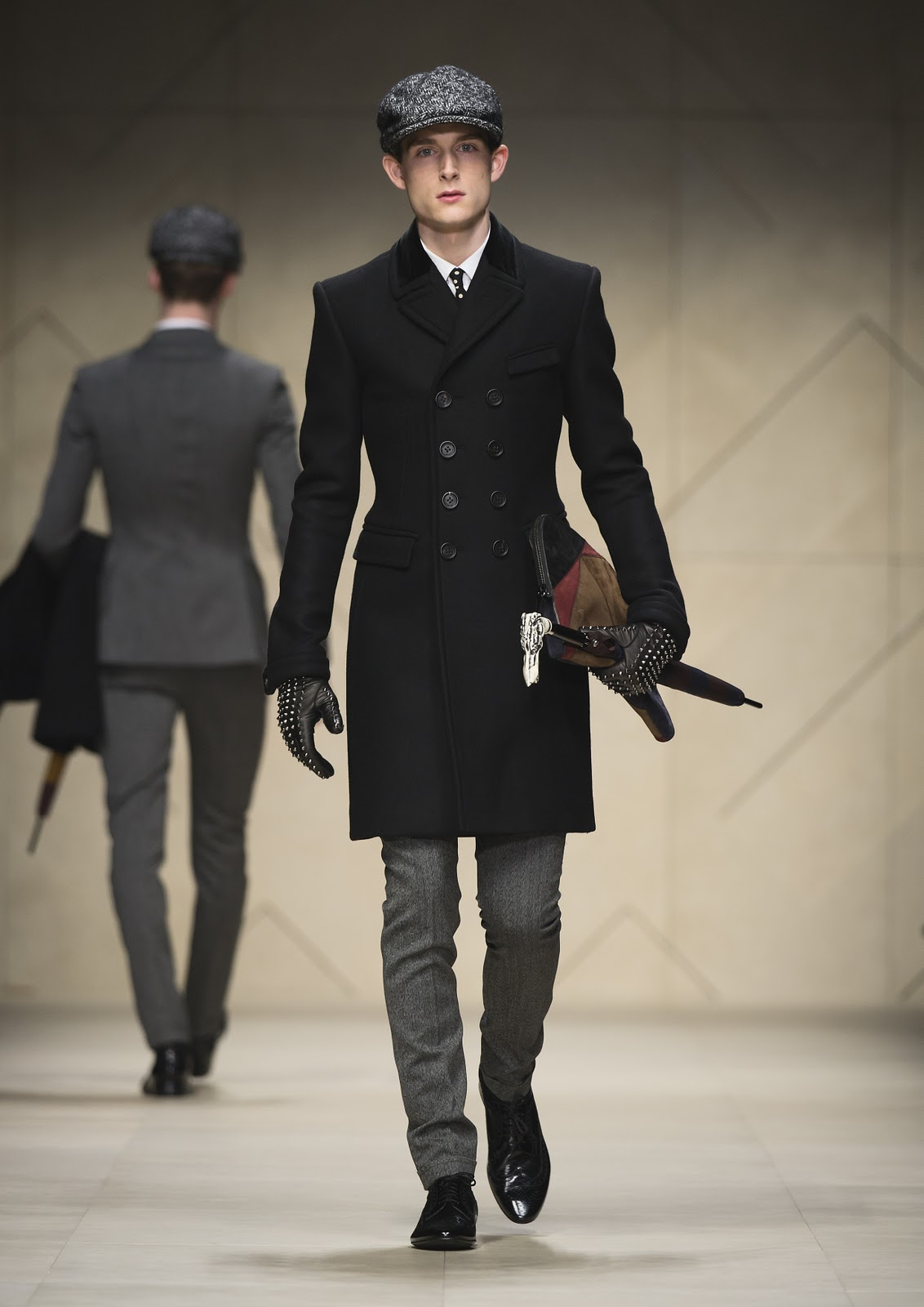 Burberry Prorsum Runway London Fashion Week Aw14: The Fashion Fiend: Burberry Prorsum Menswear AW12