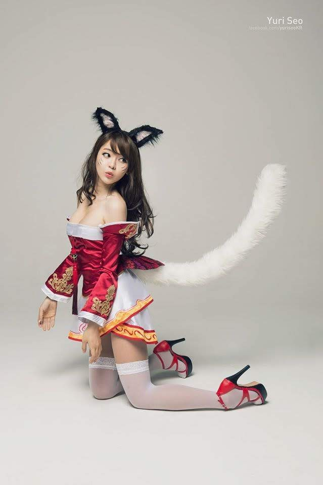 Cosplay Ahri - League of Legends P5