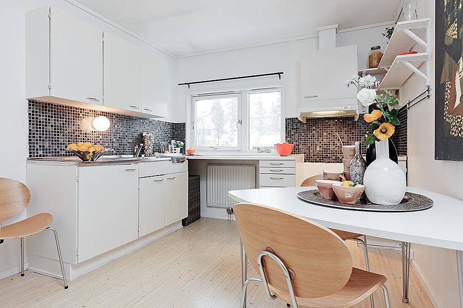 Blog achados de decora o apartamento decorado 49m2 - Cocinas de apartamentos pequenos ...