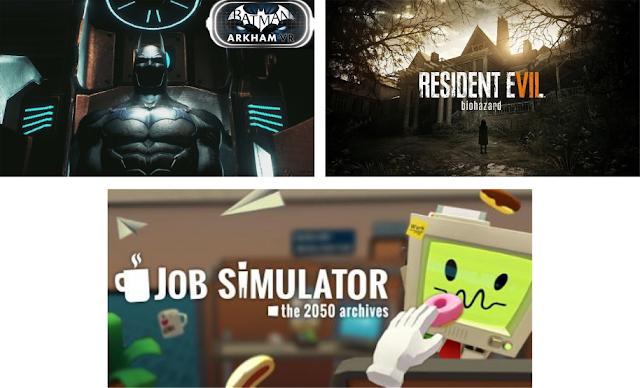 Jogos para Playstation VR