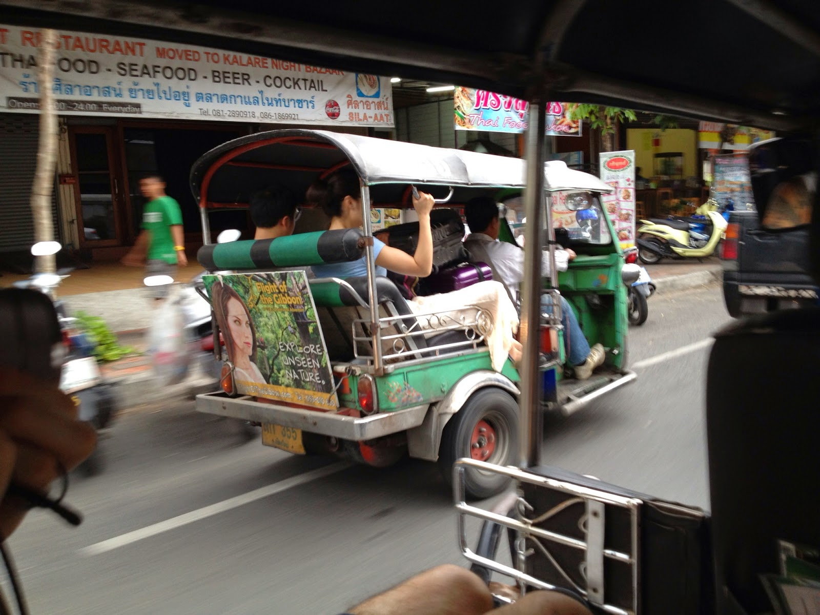Chiang Mai - In case you don't know what a tuk tuk looks like :o)