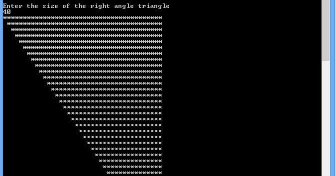 Right Angled Triangle 3 ~ Shapes in C++ - Free | C+ ...
