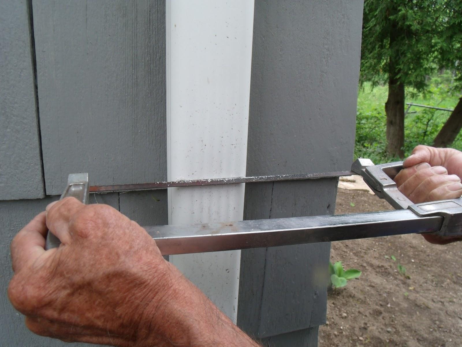 Gear Acres Diy Downspout Diverter Install For The Rain Barrel