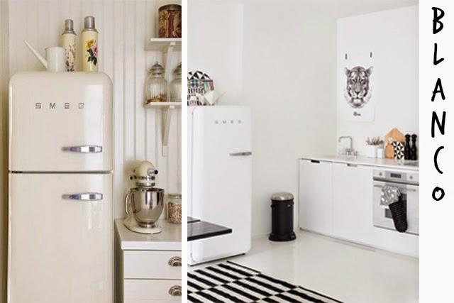 decoración de interiores cocinas smeg estilo nórdico mint hermanas bolena